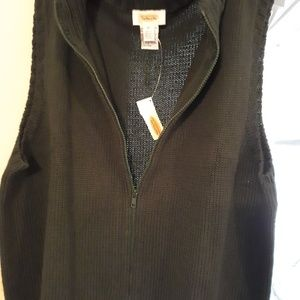 Talbots Zippered Vest